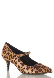 Leopard Kitten Heel Pump