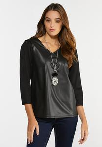 Ponte Puff Sleeve Top