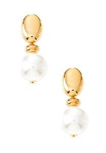 Statement Pearl Clip-On Earrings
