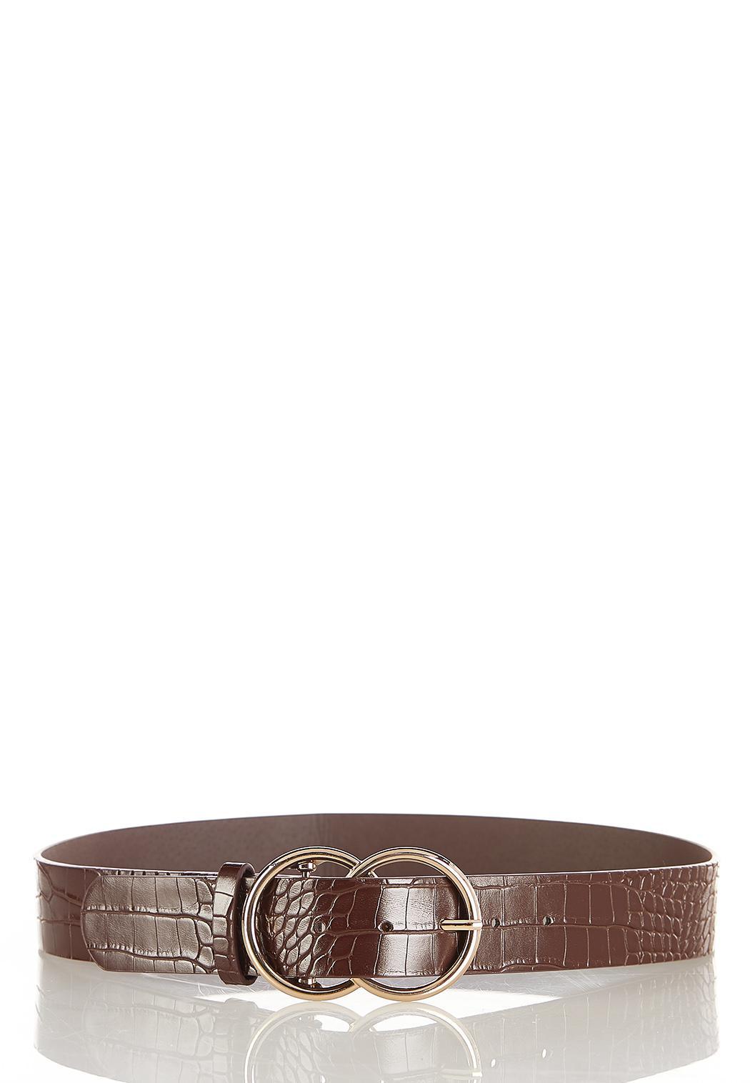 Solid Croc Belt