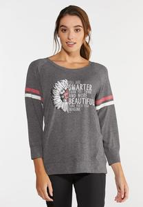 Plus Size Smarter Than You Think Top