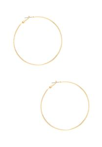 Delicate Textured Hoop Earrings