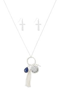 Blessed Mixed Charm Necklace