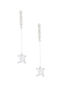 Linear Starlight Cubic Zirconia Earrings