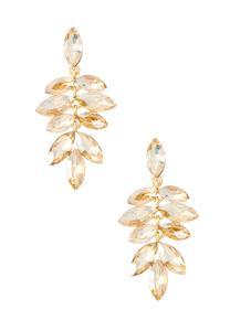 Glass Marquis Earrings