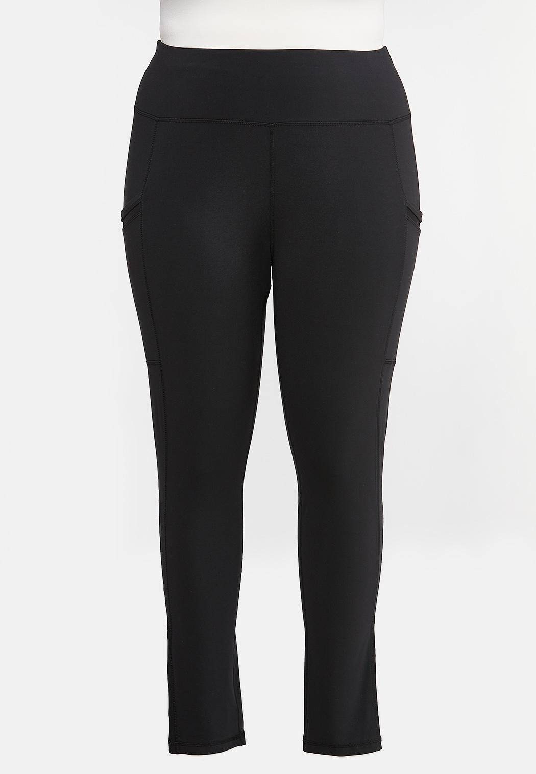 Plus Size Active Two Pocket Leggings