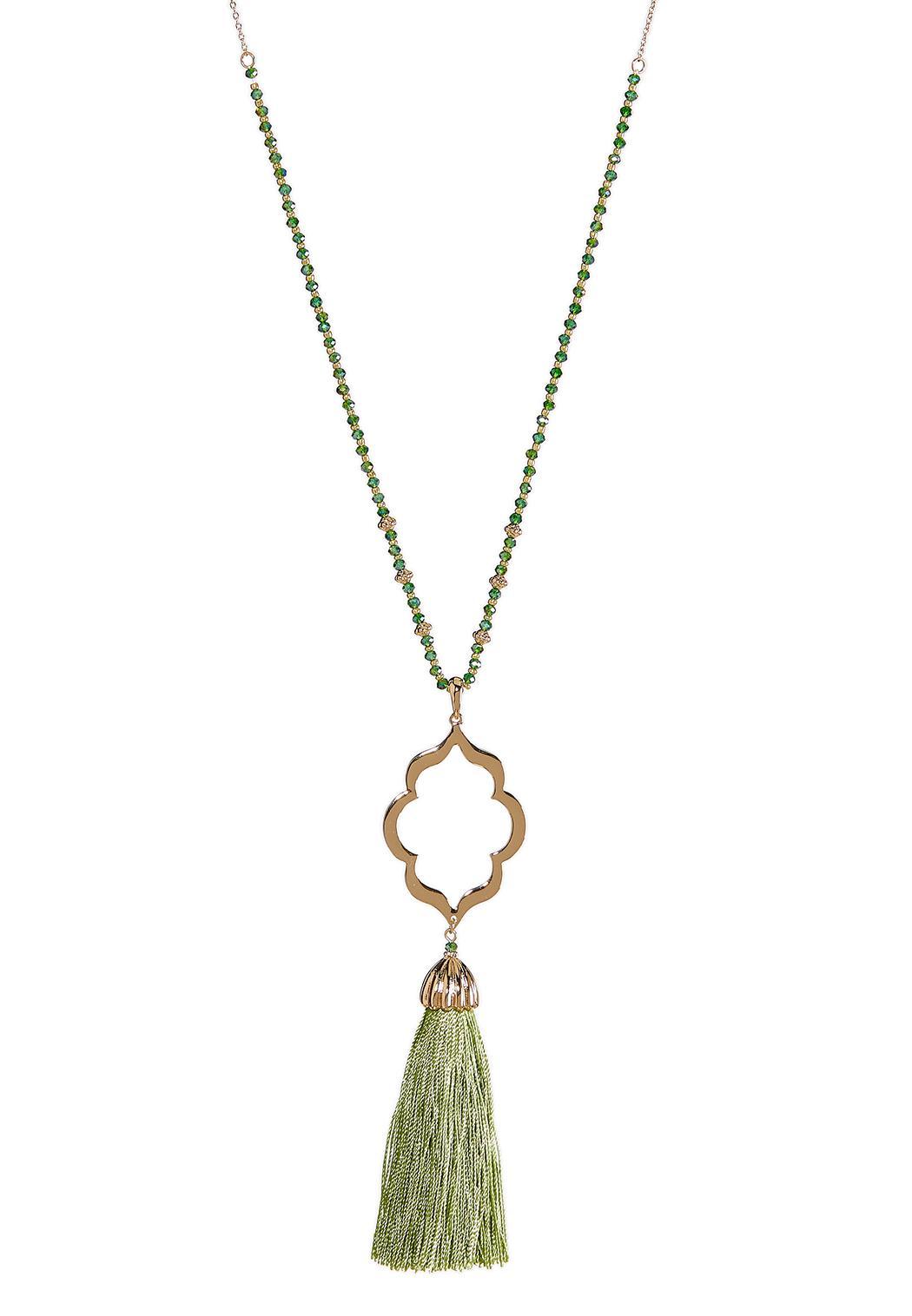 Moroccan Tassel Pendant Necklace