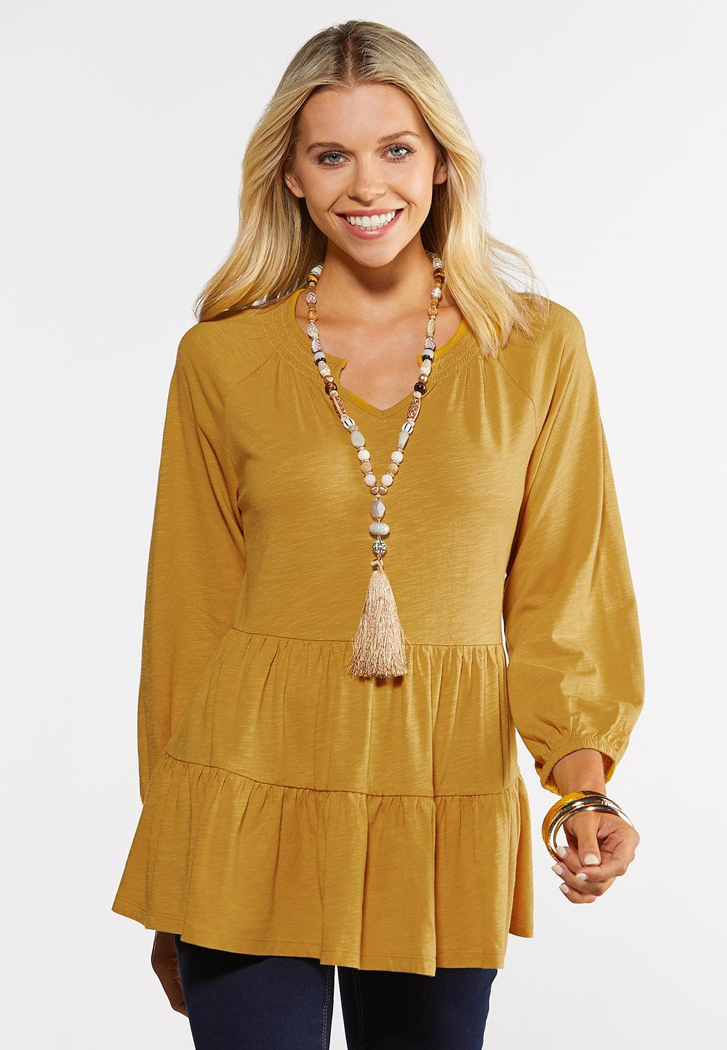 Plus Size Sunny Tiered Top