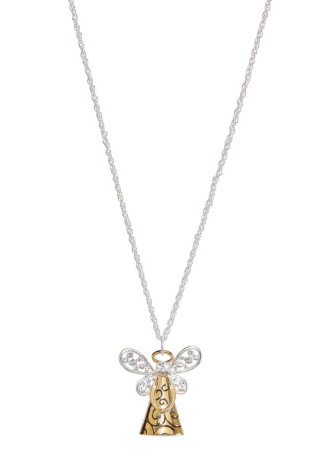 Christmas Angel Pendant Necklace