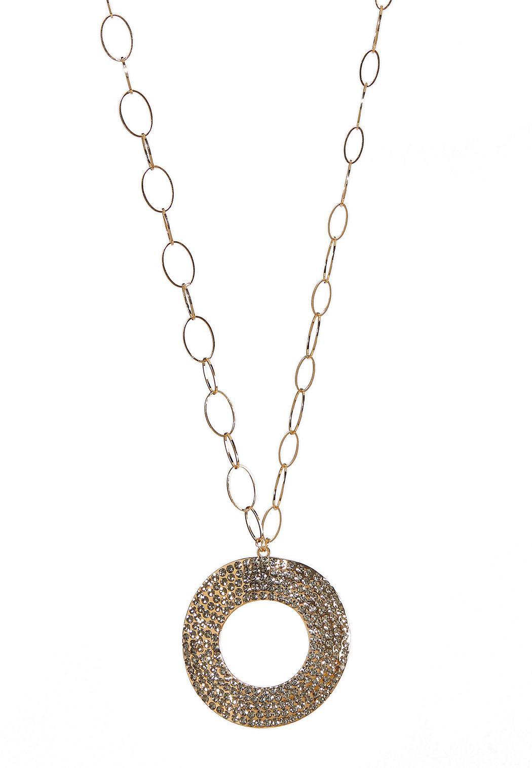 Statement Stone Pendant Necklace