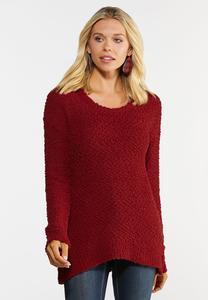 Popcorn Tunic Sweater