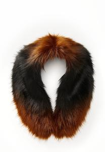 Two-Toned Faux Fur Stole