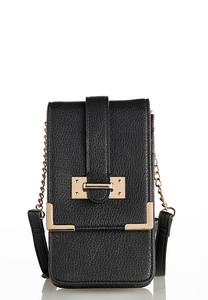Solid Cell Crossbody Bag