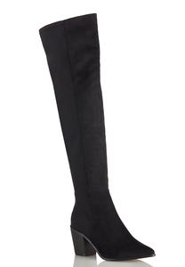 Stretch Calf Tall Boots