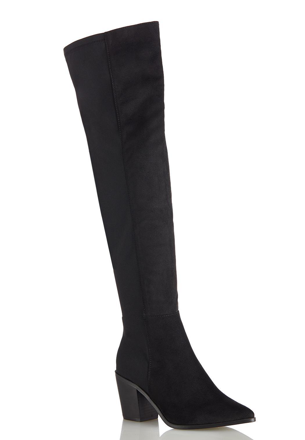 Wide Width Stretch Calf Tall Boots