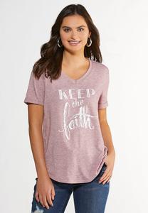 Keep The Faith Tee