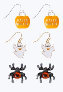 Fun Halloween Earring Set