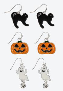Playful Halloween Earring Set