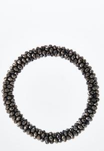 Cluster Bead Stretch Bracelet