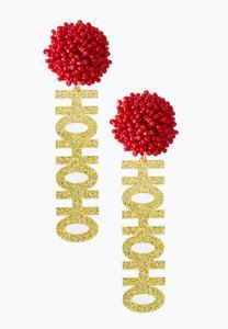 Ho Ho Ho Earrings
