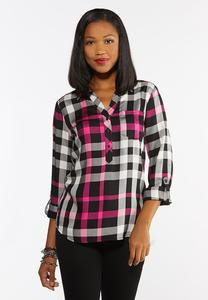Pink Checkered Shirt