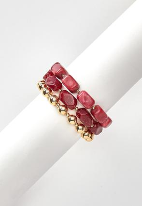 Autumn Color Bracelet Set