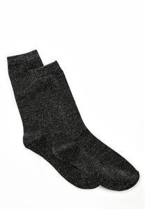 Metallic Sparkle Socks