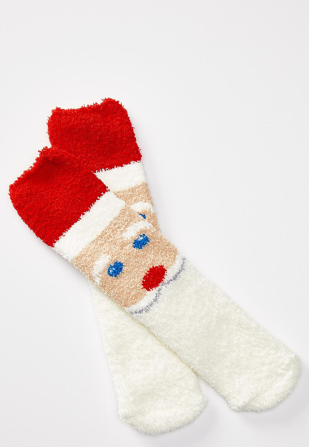 Cozy Santa Claus Socks