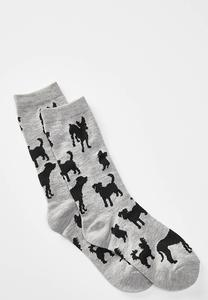 Dog Shadow Socks