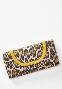 Gold Leopard Wallet