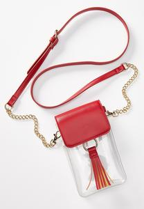 Lucite Cell Crossbody Bag