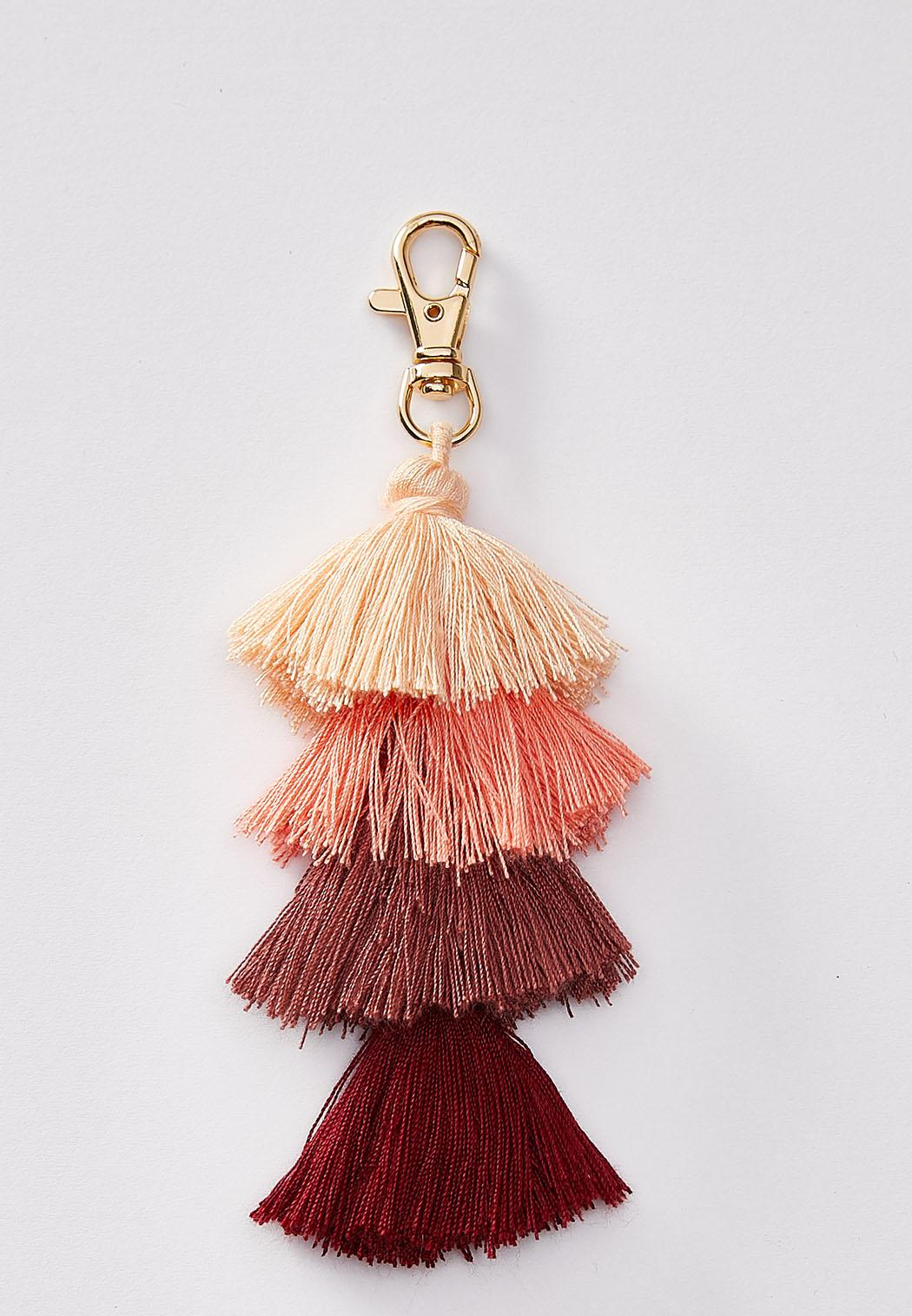 Ombre Tasseled Keychain