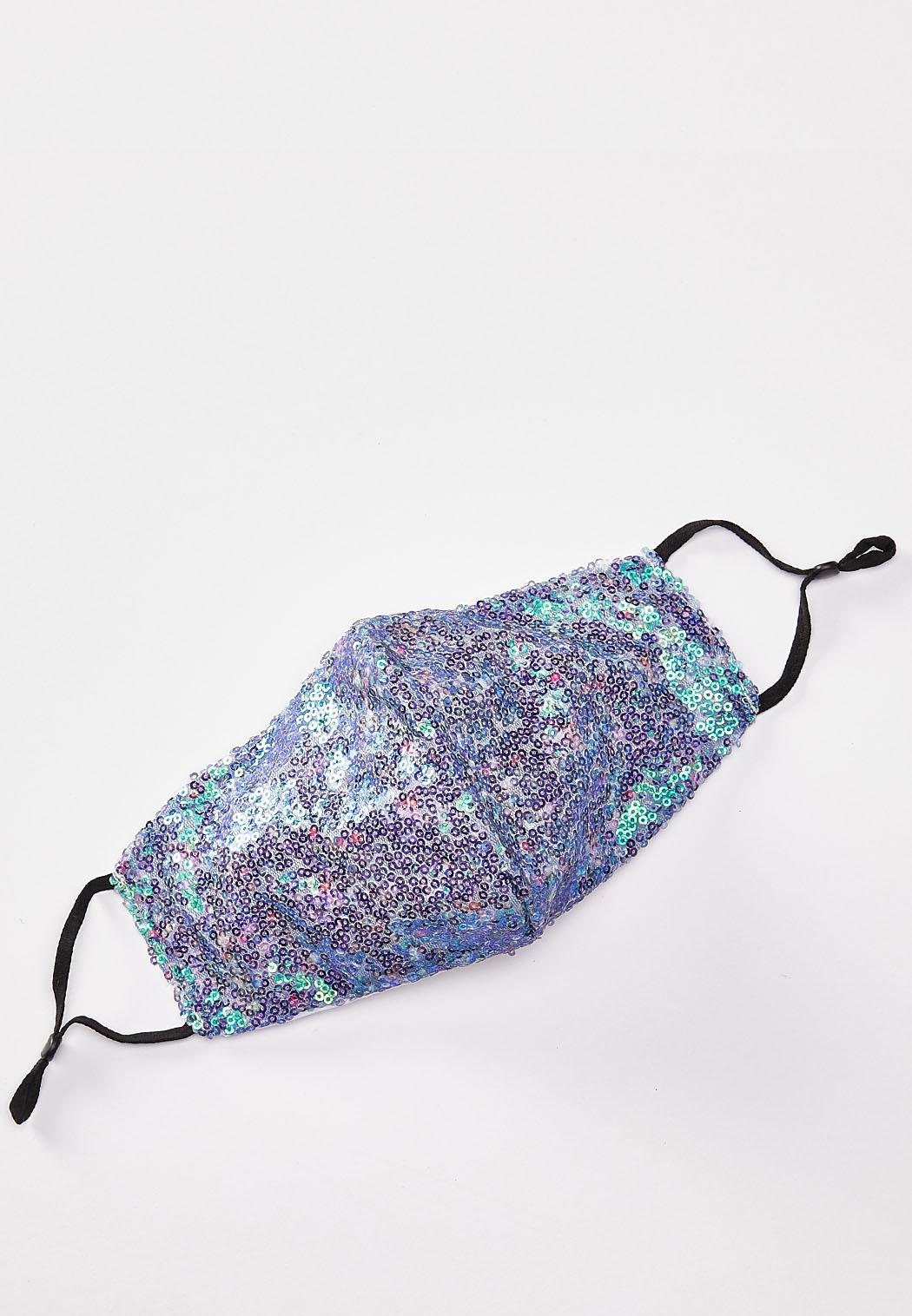 Mermaid Sequin Face Mask