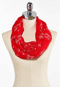 Definitely Naughty Infinity Scarf