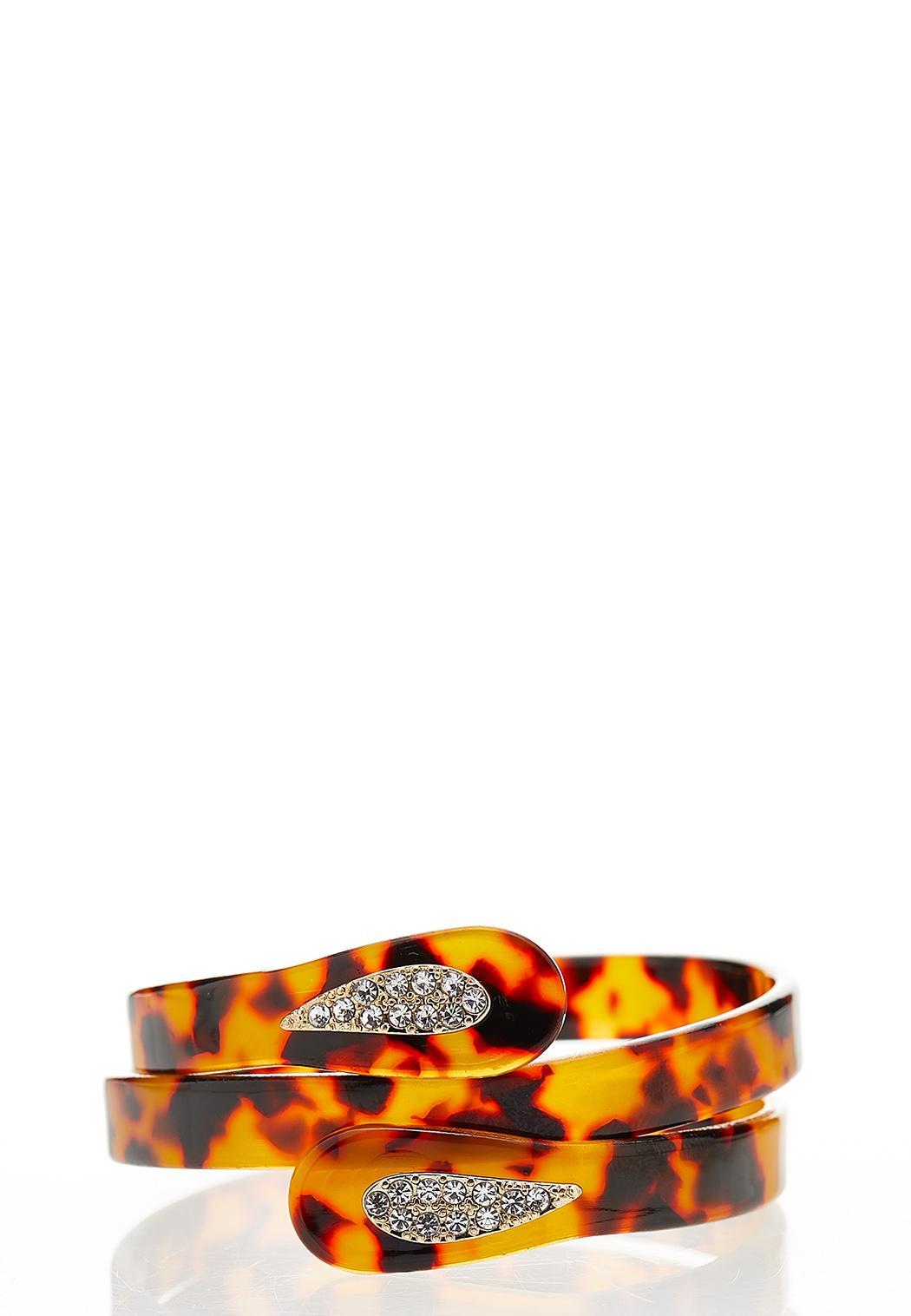 Lucite Coil Bracelet