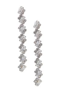 Stone Linear Earrings