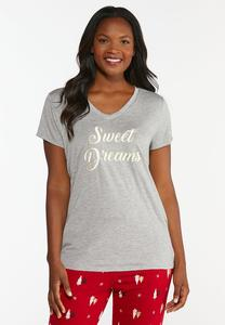 Sweet Dreams Sleep Tee