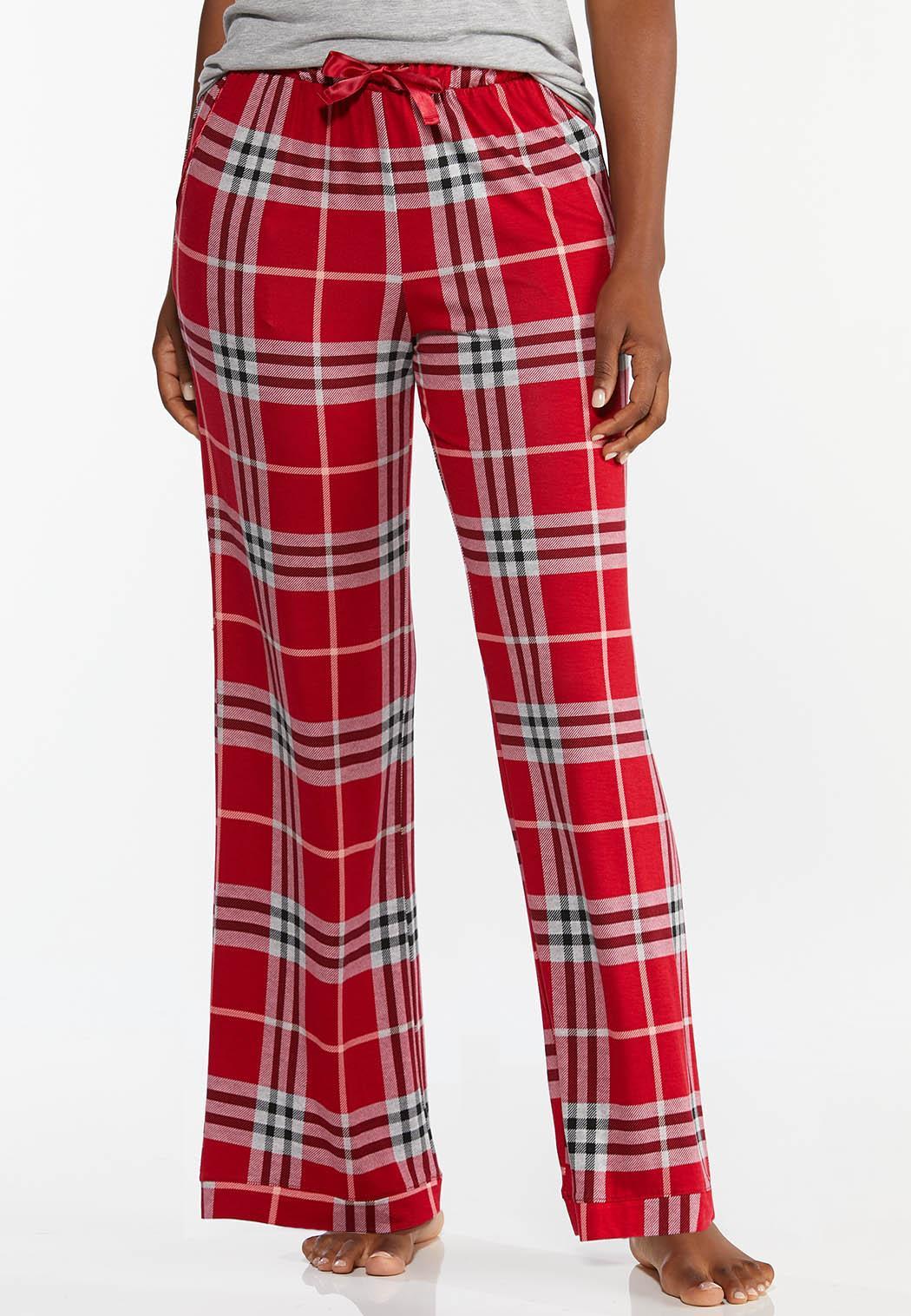 Scarlet Plaid Sleep Pants