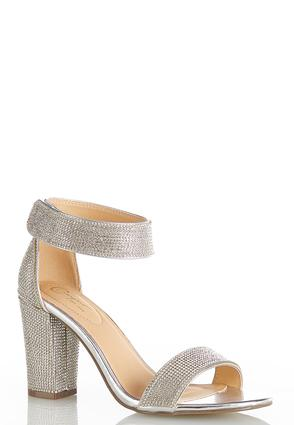 Sparkle Ankle Band Heels
