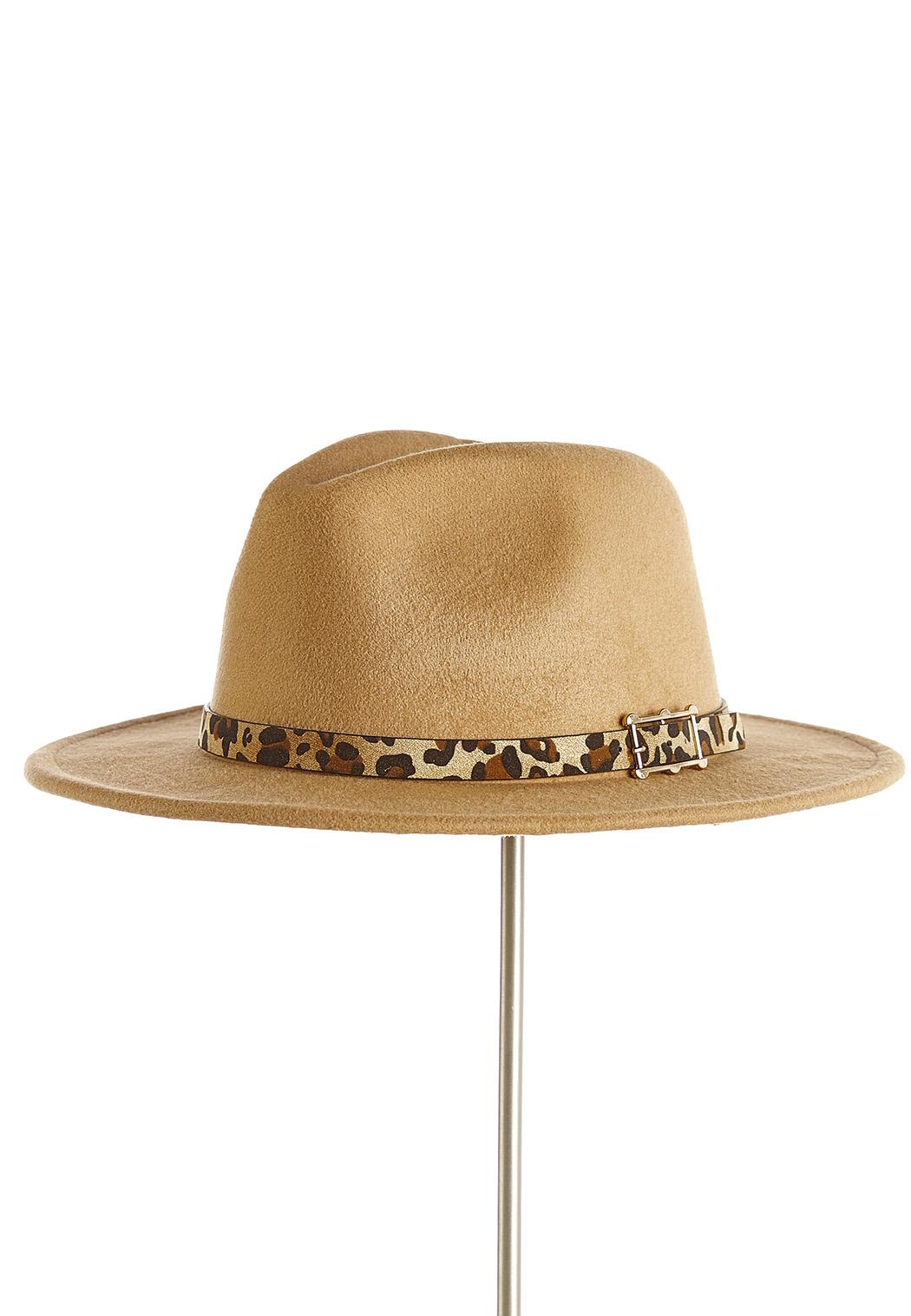Animal Trim Panama Hat