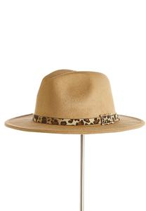 Animal Trim Panama Hat