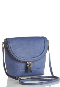 Fold Over Zippered Crossbody