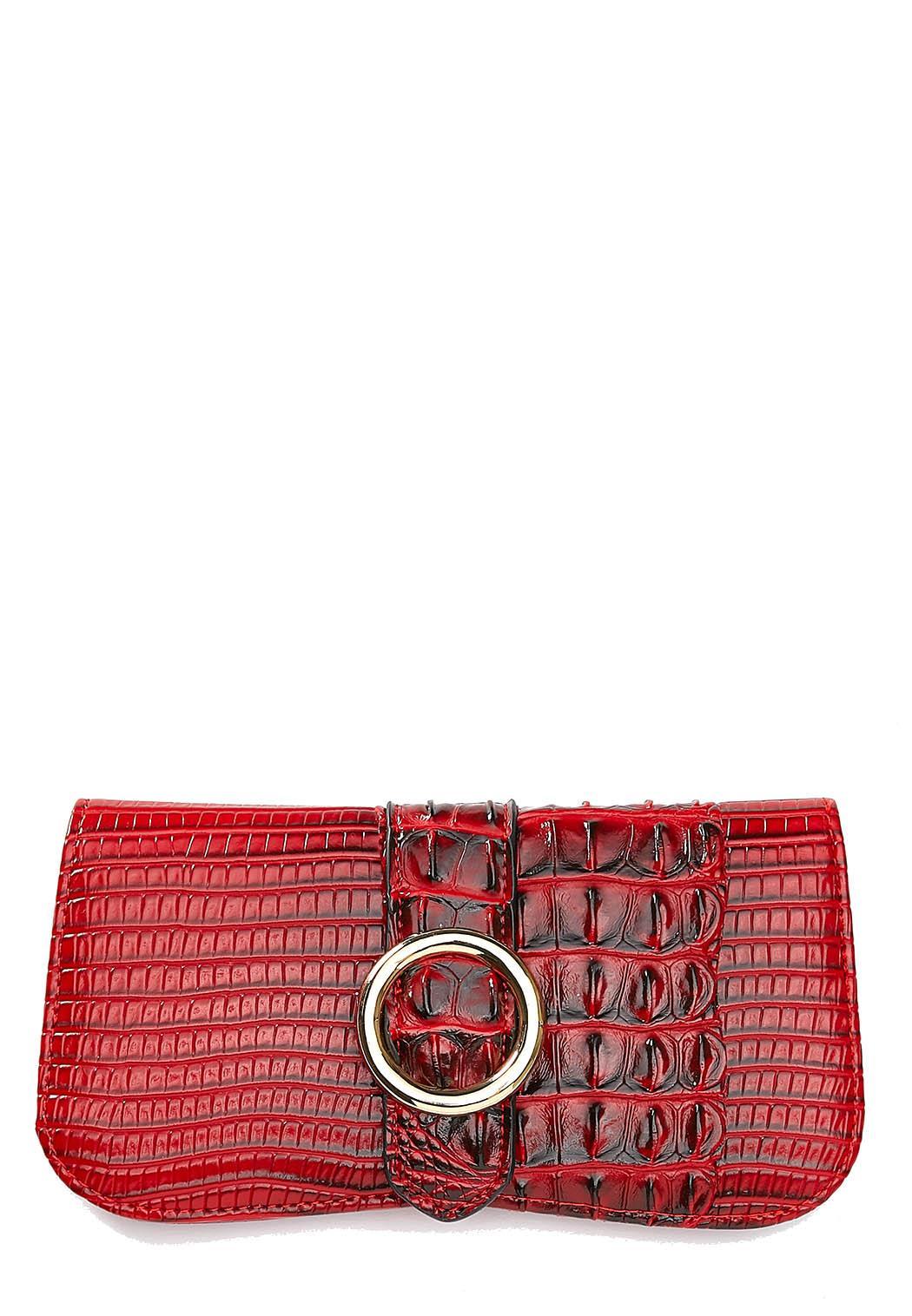 Red Croco Wallet