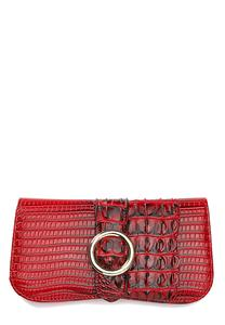 Red Croco Wallet