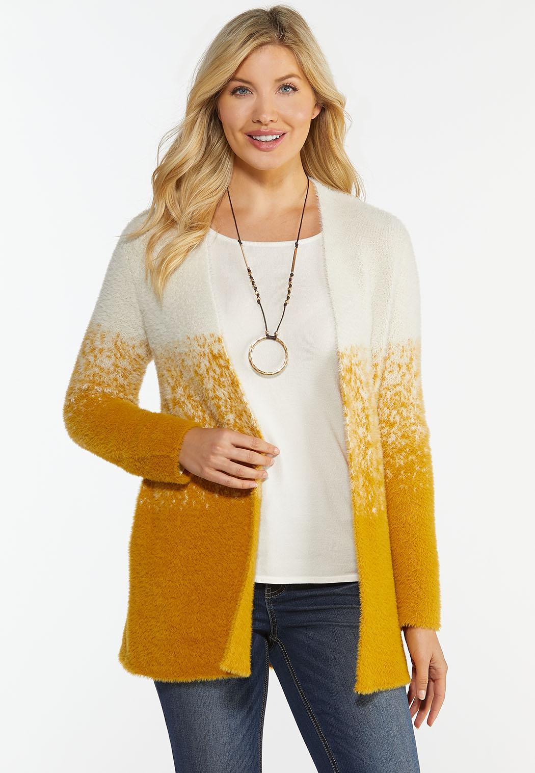 Plus Size Honey Ombre Sweater
