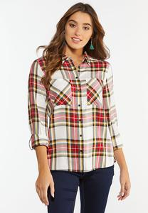 Holiday Plaid Shirt