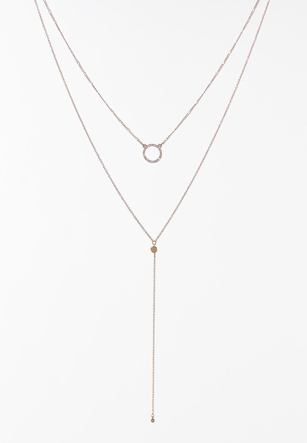 Delicate Layered Y-Necklace