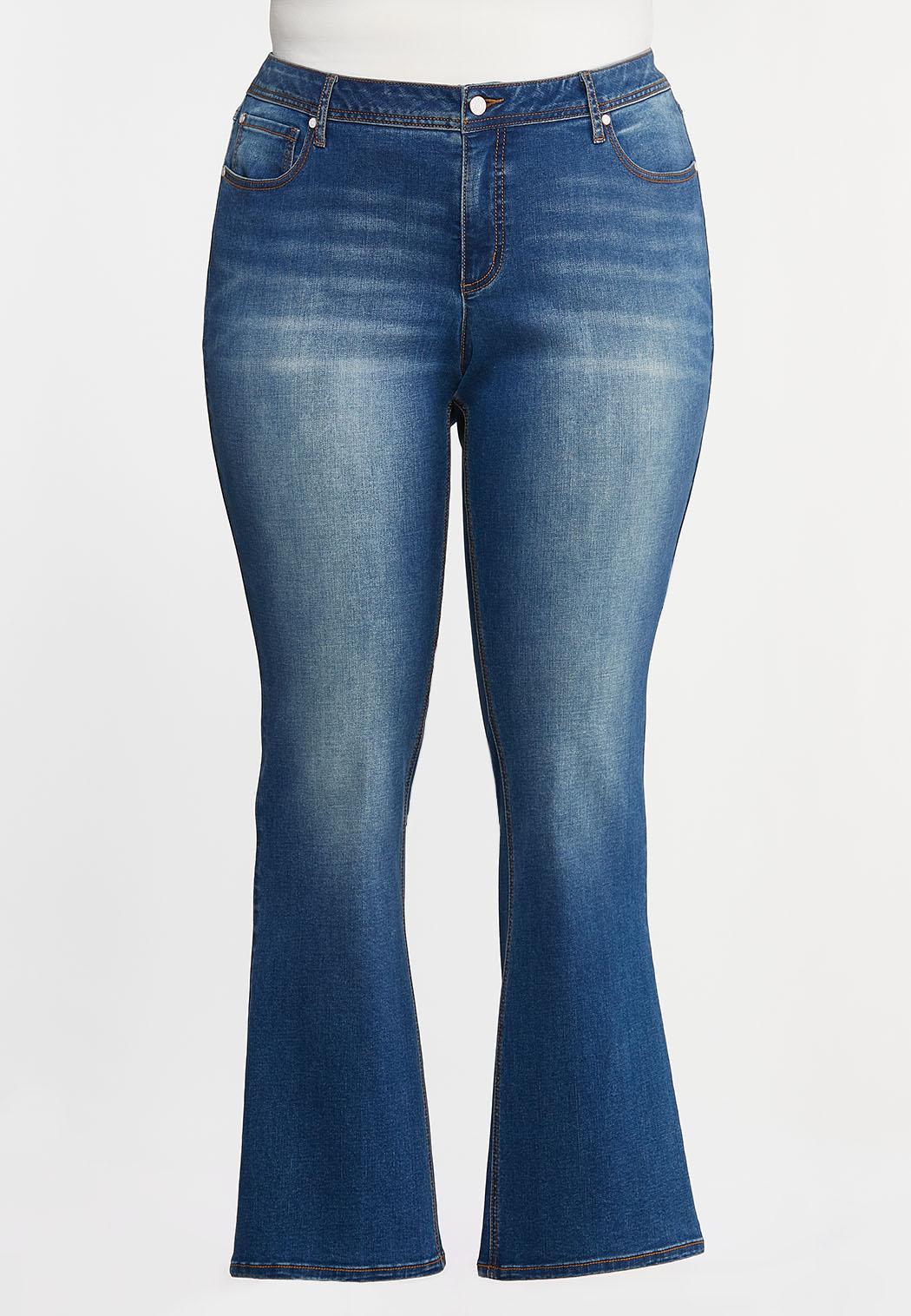 Plus Petite Bootcut Jeans
