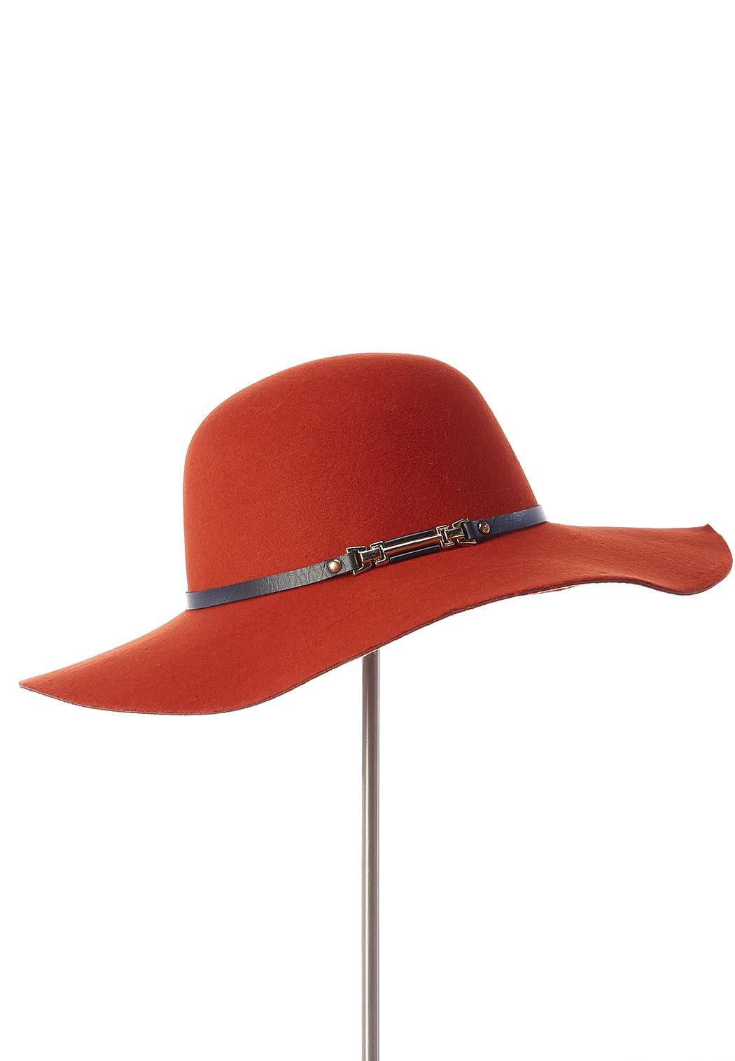 Buckle Strap Panama Hat