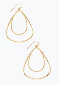 Double Wire Dangle Earrings